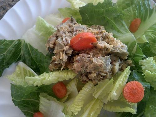 Mock Vegan Tuna Fish Salad
