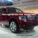 Fuel Efficient Trucks are Unveiled by Ford at Auto Show