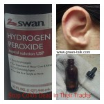Hydrogen Peroxide, Ear Canals, and Colds