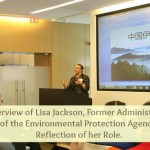 Interview of Lisa Jackson, former Administrator of the EPA