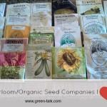 Heirloom and Organic Seed Company I love