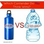 Reusable Bottle vs Plastic Water Bottle