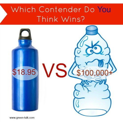 Reusable Bottle vs Plastic Water Bottle