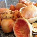 grapefruit peel use