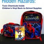Toxic School Supplies