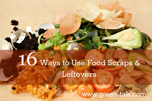 Food scrap and leftover use