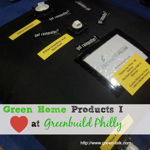 Green home products I love at Greenbuild