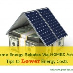 Home Energy Rebates and the HOMES Act