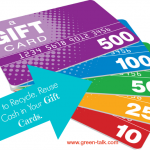 How to Recycle, Reuse, and Cash in Your Gift Cards