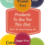 Sugar, Gluten, Dairy, & Corn Free Products