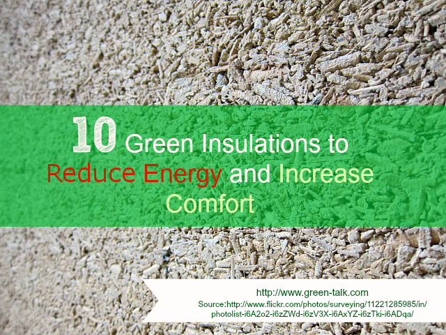 10 Green Insulations