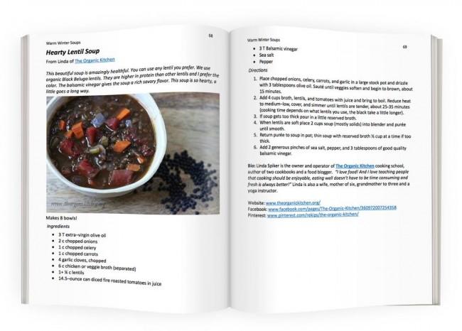 open cook book