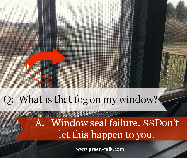 window seal failure