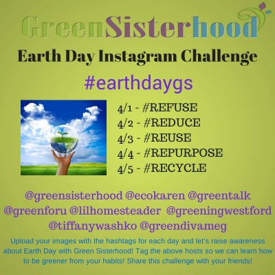 Green Sisterhood Instagram Earth Day Challenge