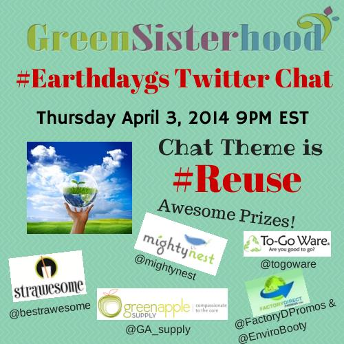 Green Sisterhood Earth Day Twitter Chat