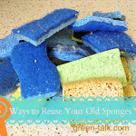8 Ways to Reuse Sponges.   Nasty Sponge New Life Remedy