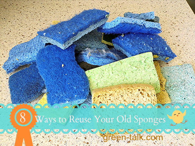 8 Ways How to Reuse Sponges