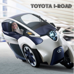 Toyota i-ROAD:  Zero Emissions, Future of Mobility & Fun to Drive