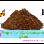 Coffee Grounds for the Garden