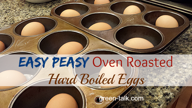 How to Make Hard Boiled Eggs in the Oven