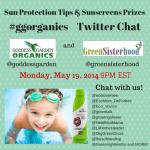 Goddess Garden Organics Twitter Chat