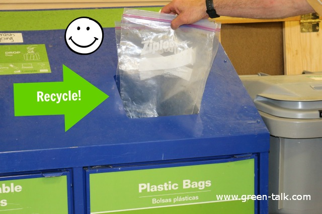 Recycle Plastic Baggies