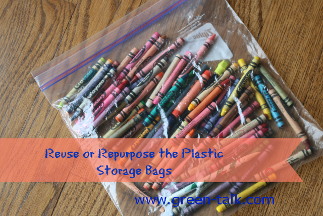 Reuse or Repurpose Your Plastic Bags