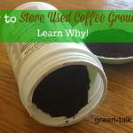 How to Store Used Coffee Grounds +Reuse Tips