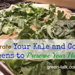 dehydrate your kale and collard greens