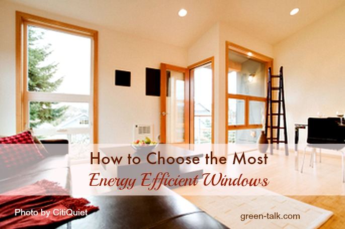 How to Choose the Most Energy Efficient Windows