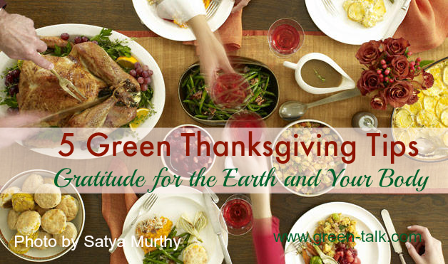 green thanksgiving tips