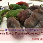How to Cook with Frozen Peppers from Summer Harvest