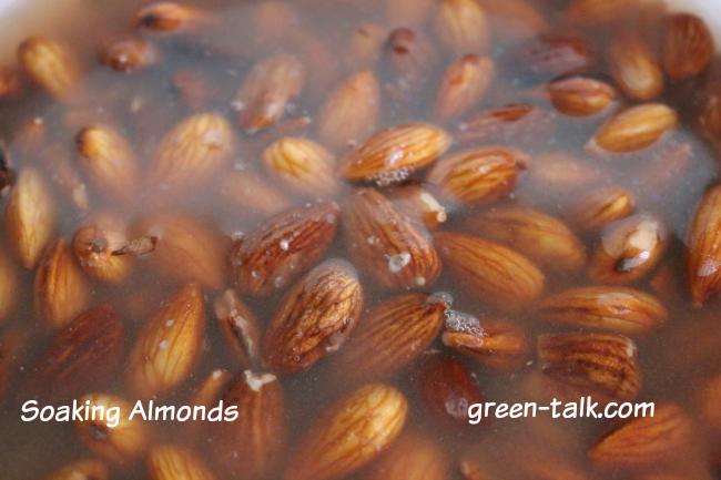 why soak nuts