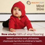 Vinyl Flooring Could Comes With a Health Price.  Toxic Phthalates.
