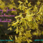 Spring Garden Maintenance Checklist