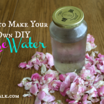 DIY rose water