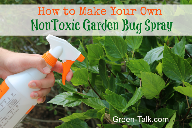 nontoxic garden bug spray