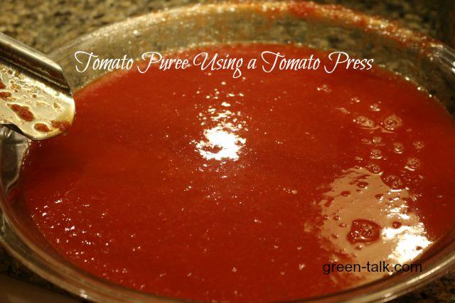 Tomato Press Sauce