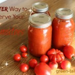 Canning Tomatoes Recipe–A Better Way.