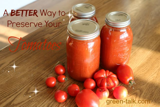 A Better Canning Tomatoes Recipe