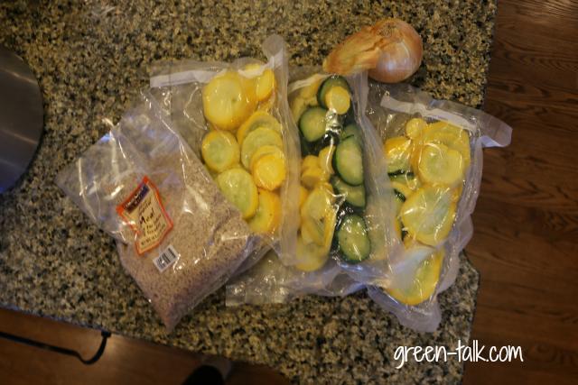frozen zucchini nut flour casserole