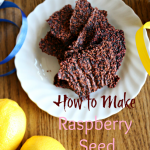 how to make raspberry seed crackers
