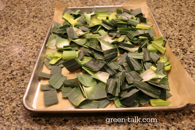 leek greens recipe