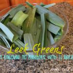 Leek green recipes