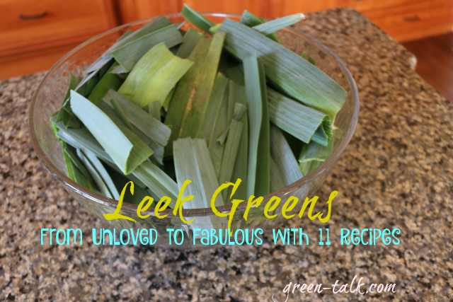 Leek greens recipes