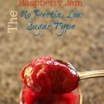 How to Make Raspberry Jam: Low Sugar No Pectin