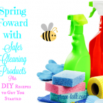Choose Safer Cleaning Products this Spring! +21 DIY Recipes