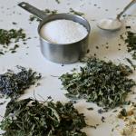 Herbal Bath Soak Recipe for Relaxing & Sore Muscles