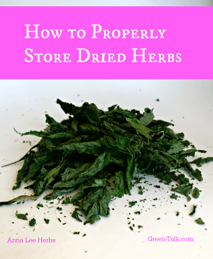 store dried herbs