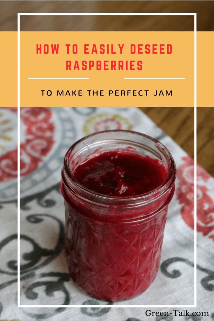 Deseed Raspberries